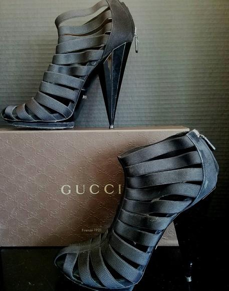7ff1098d7 Gucci Shoes | Isadora Elastic Gladiator Platform Sandals | Poshmark